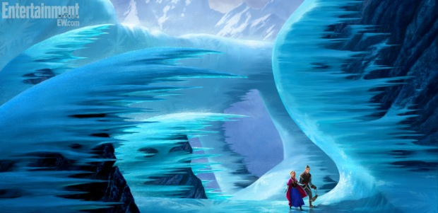 Disney's 'Frozen': Animated feature reveals Cool as ICE concept art -- FIRST LOOK